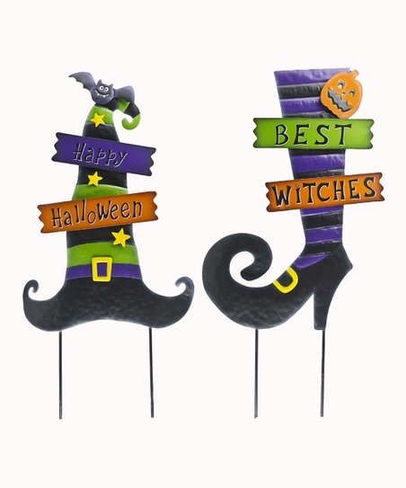 Halloween Yard Stakes.Ganz Halloween Yard Stakes Set Of Two