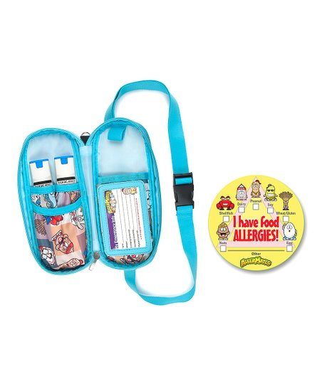 Allermates Blue Yellow Epipen Carrying Case Set Zulily