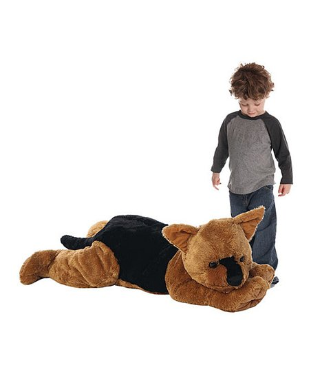 Jooje Jumbo German Shepherd Plush Toy Zulily