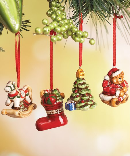 love this product Old-Fashioned Christmas Ornament Set