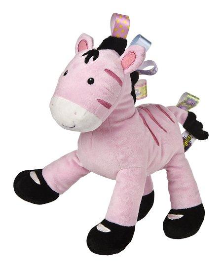 Mary Meyer Taggies Pink Zoey Zebra Plush Toy Zulily