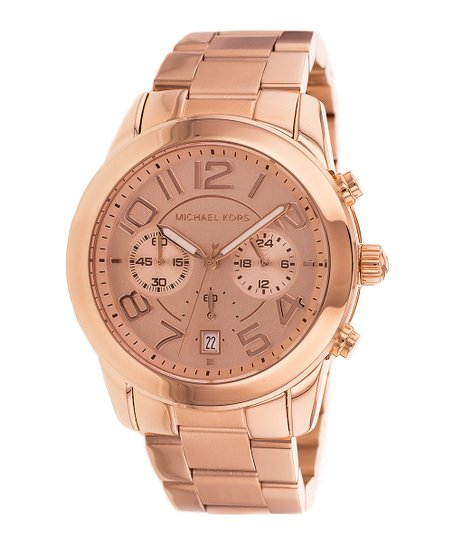 b53a2ec74549 love this product Rose Gold Mercer Chronograph Watch