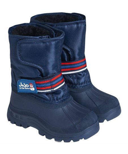 c5720933a JoJo Maman Bébé Navy Alpine Snow Boot - Boys