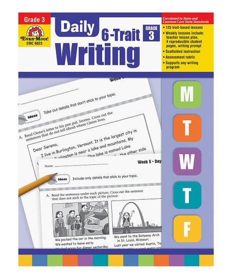 Evan-Moor Educational Publishers Grade 3 Daily Writing Workbook