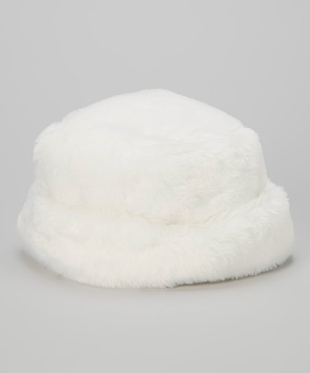 love this product White Faux Fur Hat - Infant   Toddler be344799e