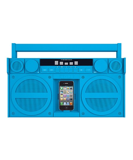 iHome Portable Stereo Boom Box for iPhone/iPod