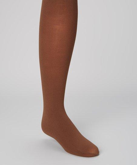 ed8ba18f5 Steve Madden Chocolate Brown Tights - Girls