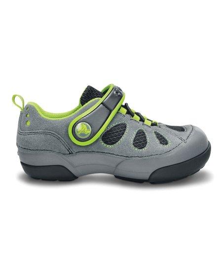 4cc58565ec2a7b love this product Charcoal   Black Dawson Easy-On Sneaker - Kids