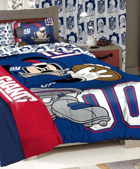 The Northwest Company New York Giants Mickey Mouse Comforter Set