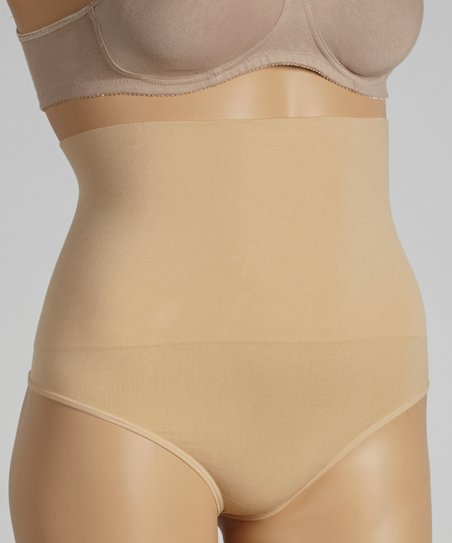 cf0fa3fc98 love this product Nude Seamless Shapewear High-Waisted Thong - Plus