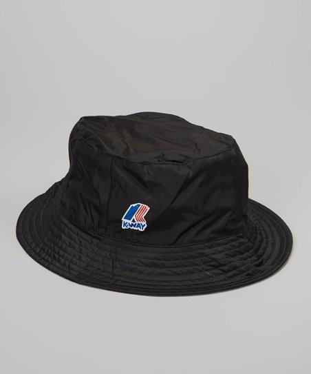 K-Way Black Bucket Hat  5a3876b97a1