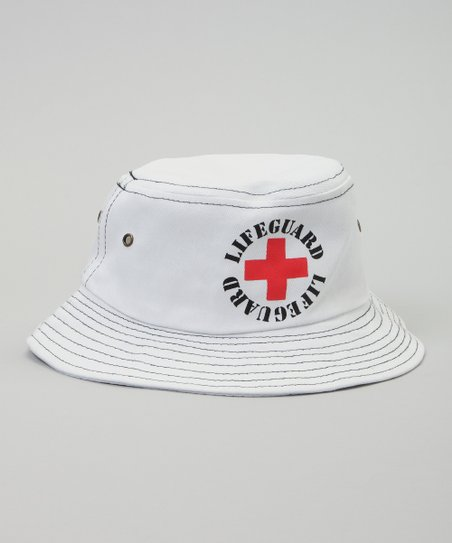 6d6a5826964ba love this product White  Lifeguard  Bucket Hat