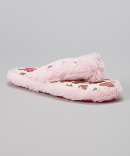 764d029f0 love this product Pink Crystal Flip-Flop Slipper - Kids