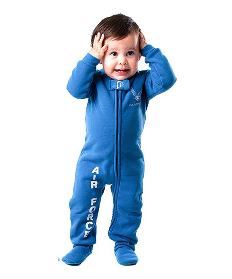 love this product Blue  U.S. Air Force  Footie - Infant 01ace737a9