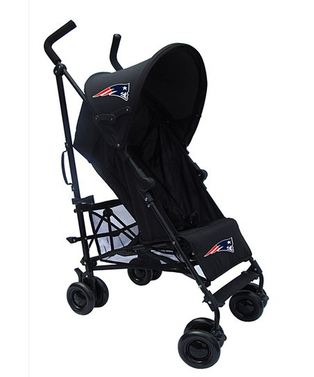 buy online d31e9 68bbb Baby Spirit Gear Black New England Patriots Stroller