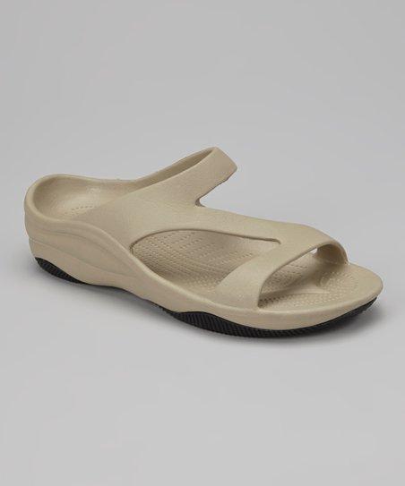 DAWGS Tan \u0026 Black Z Sandal - Women