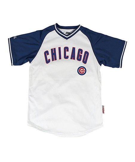 Stitches Athletic Gear White   Royal Chicago Cubs Jersey - Boys  385b418ab3b7