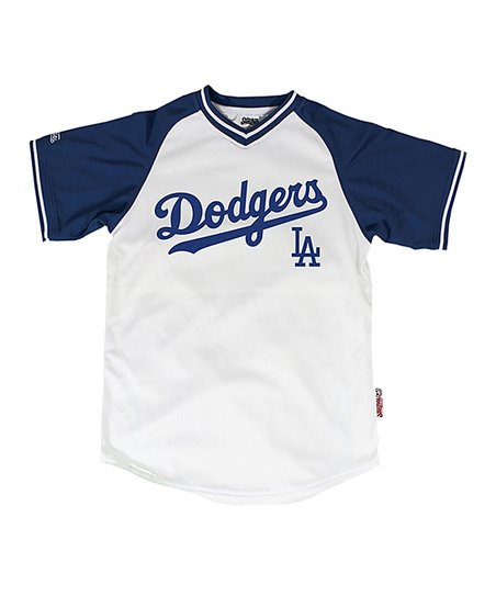 Stitches Athletic Gear White   Royal Los Angeles Dodgers Jersey ... 5cbd6b15d08