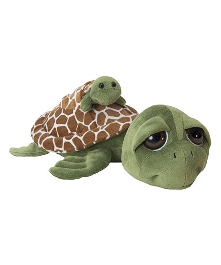 Seaworld Bright Eyes Sea Turtle Baby Plush Toy Zulily
