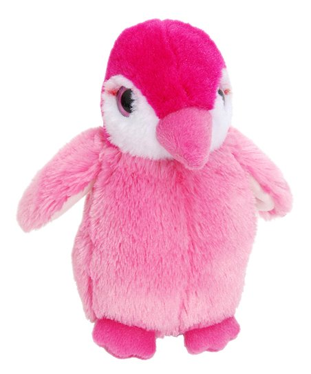 Seaworld Squeakerz Pink Penguin Plush Toy Zulily