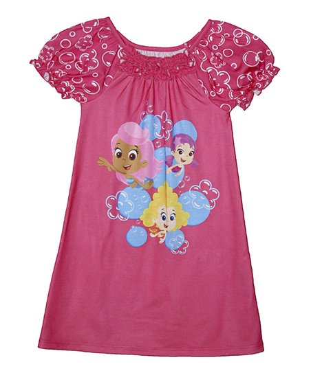 fdb2a78d9 Pink Bubble Guppies Nightgown - Toddler