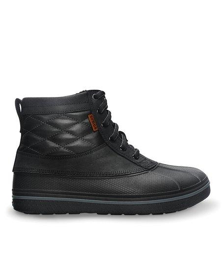 7cdc4e364 Crocs Black AllCast Duck Boot - Men