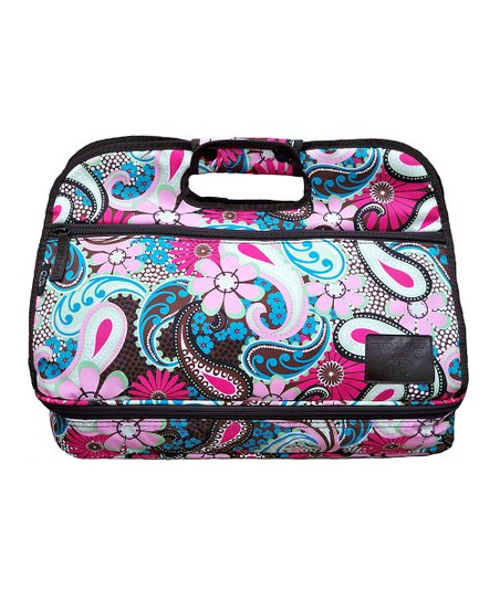 Two Lumps of Sugar Pretty Paisley Two-Level Maria Food Carrier