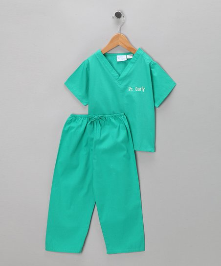 81857c6b849 love this product Green Scrub Personalized Dress-Up Set - Infant & Toddler