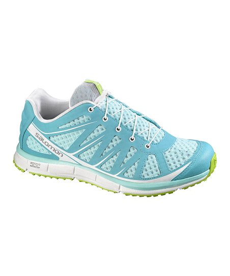 the best attitude e6f16 6db80 Salomon Topaz Blue & Green Kalalau Trail Running Shoe - Women