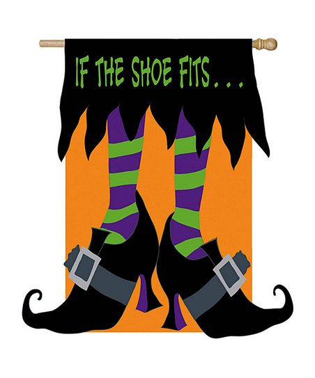 If The Witch Shoe Fits Flag