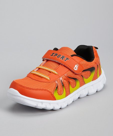 love this product Orange   Black Flame Running Shoe d45afb6b7