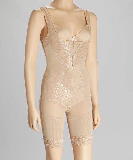 28e67de9e9 F.I.X. Shapewear Nude Under-Bust Full Body Shaper - Women   Plus ...