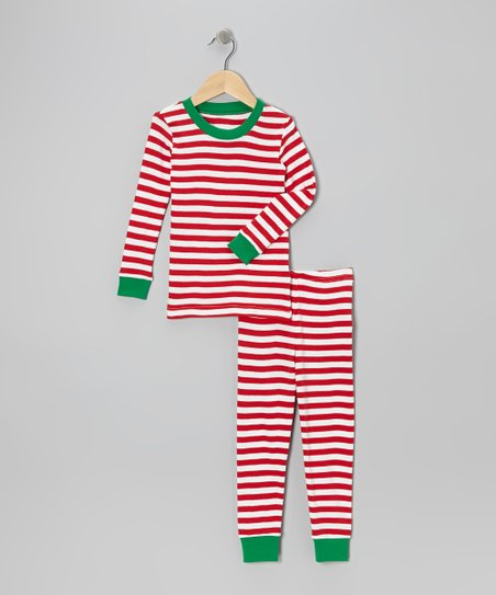 c972bbcf2 love this product Red Candy Cane Pajama Set - Toddler & Kids