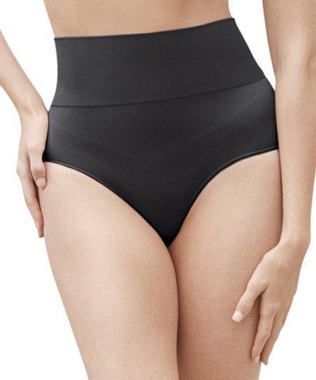 a90a0f288 love this product Black Léger Mid-Waist Shaper Thong - Women   Plus