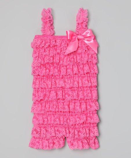 dd5519b36b7 love this product Watermelon Lace Ruffle Romper - Infant