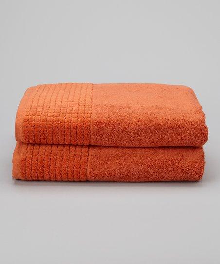Love This Product Burnt Orange Bath Towel Set Of Two