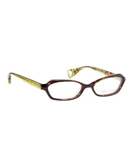 28a66511962 Betsey Johnson® Espresso Galaxy Glam Eyeglasses