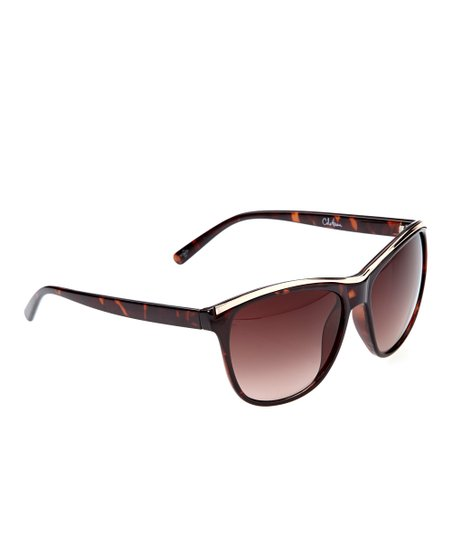 ba601c288c240 love this product Tortoise Round Sunglasses