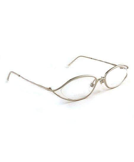 003118e4adb2 Michael Kors Silvertone Cutout Eyeglasses | Zulily