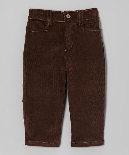 7692e09e9d Dreaming Kids Brown Corduroy Pants - Infant, Toddler & Boys