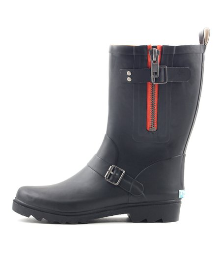 affa5b3db1b LeBunny Bleu Black Classic Short Rain Boot - Women