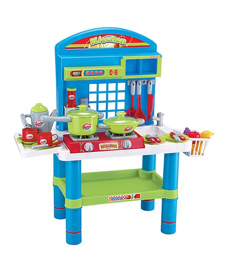 Diy Kids Deluxe Musical Kitchen Play Set Best Price And Reviews Zulily