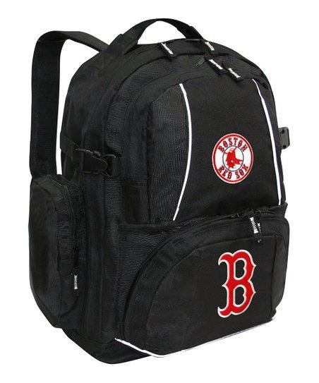 MLB Boston Red Sox Black Trooper Deluxe Backpack  818ed872e6c25