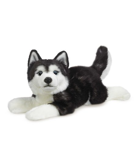 Ganz Black White Classics Husky Plush Toy Zulily