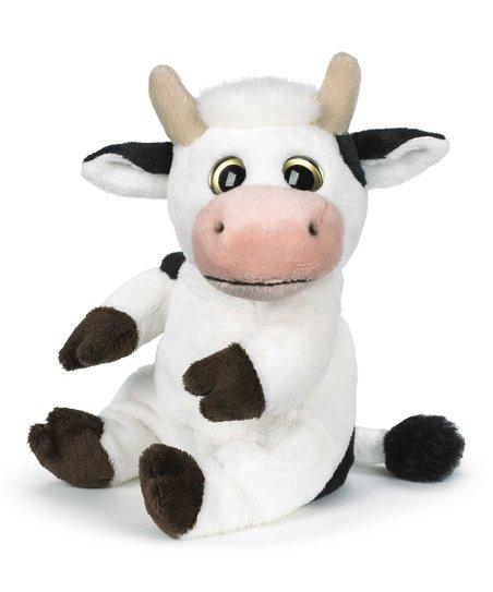 love this product White   Black Classics Big Eye Cow Plush Toy ecd3bde871