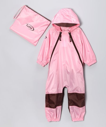 ebeb043e801c72 love this product Pink Muddy Buddy Waterproof Coveralls - Infant, Toddler &  Girls