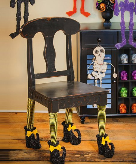 Outstanding Evergreen Wicked Witch Chair Leg Cover Set Of Four Gmtry Best Dining Table And Chair Ideas Images Gmtryco