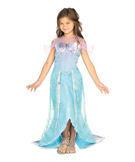 7d2e7a76e94f love this product Blue Mermaid Dress-Up Outfit - Toddler & Girls
