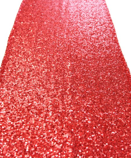 Love This Product Red Sequin Table Runner