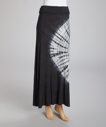 07ebee4307 love this product Black Tie-Dye Maxi Skirt